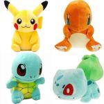 Покемоны игрушки, купить покемона Пикачу, Чермандер покемон, Сквиртл, Бульбазавр и др.