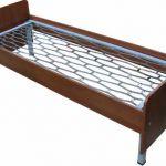 Кровати металлические с сеткой из прокатной пружины для пансионатов, санаториев, домов отдыха