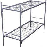 Армейские кровати металлические для обстановки казарм, бараков, тюрем, Кровати под заказ