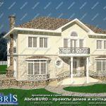 Готовые проекты коттеджей, строительство домов