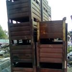 Купим тару, ящики, металлические для склада б/у
