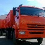 Самосвал КАМАЗ 552900