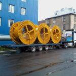Перевозка нестандартного груза и оборудования / Аренда трала