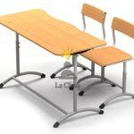 Школьная мебель: парты, стулья